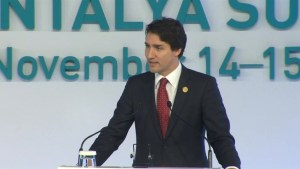 Trudeau says world migration will be the norm not an exception